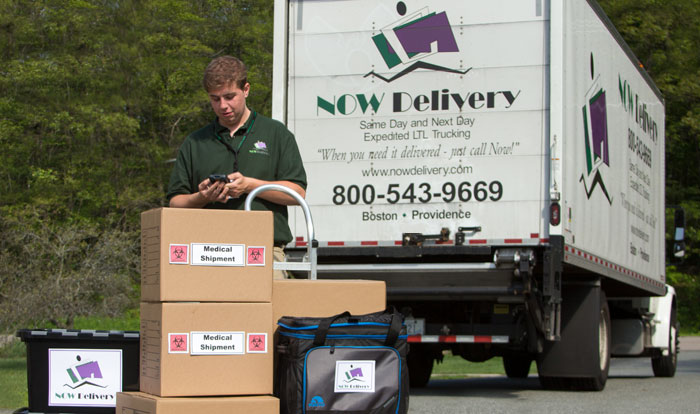 NOW Delivery's dedicated team will ensure your complete satisfaction